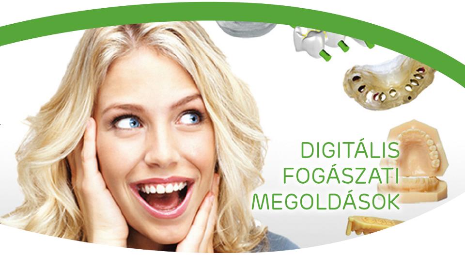 Digitális fogászati megoldások