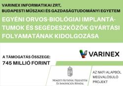 Kutatás Fejlesztési Pályázat Varinex
